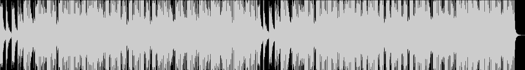ゆったりとしたフューチャーベースの未再生の波形