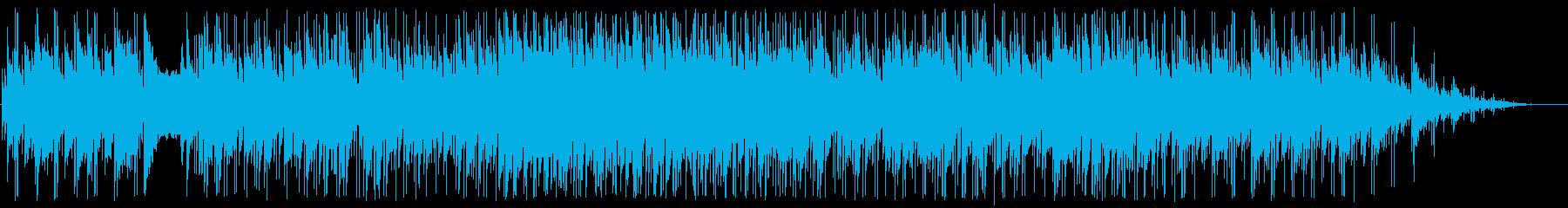 さわやかで軽快なフュージョンの再生済みの波形