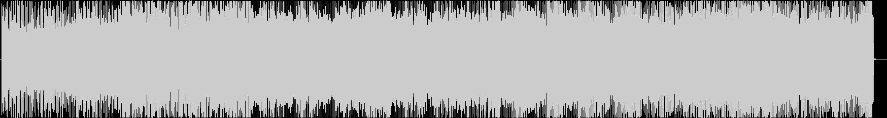 メロデイアスで攻撃的なギターインストの未再生の波形