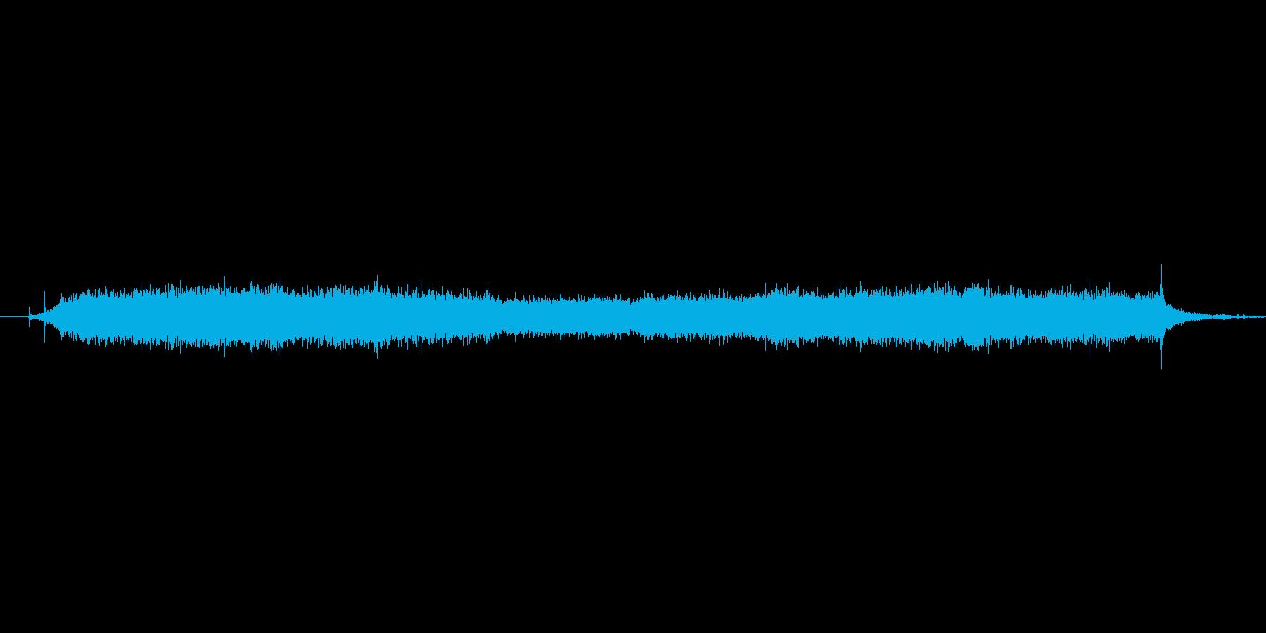 ブーン(ドライヤーの音)の再生済みの波形