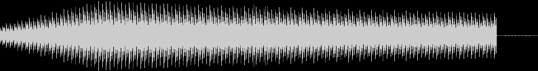 警告音_ギューンの未再生の波形