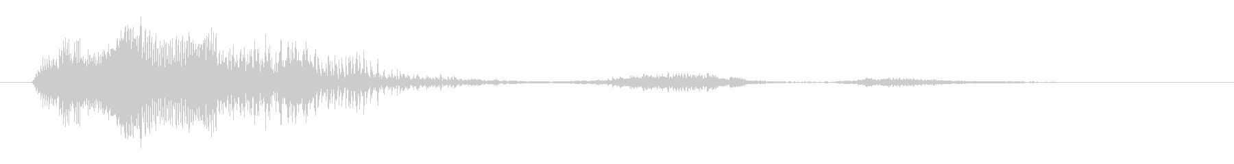 鳴き声 男性戦闘ダイ07の未再生の波形