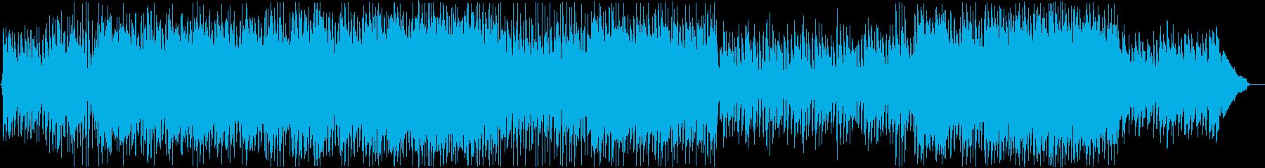 ノベルゲーム・明るくほのぼのした日常の再生済みの波形