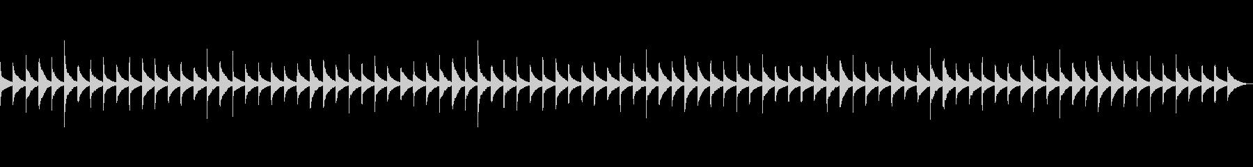 きらきら星  (オルゴール)の未再生の波形
