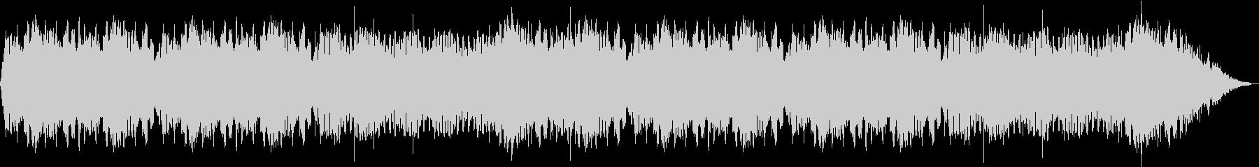 ノスタルジックな444Hzの安らぎ音楽の未再生の波形