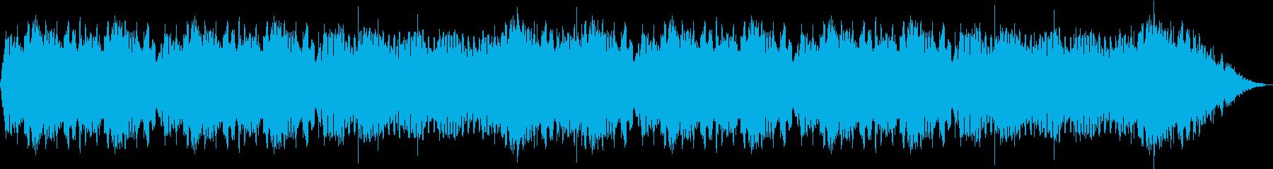ノスタルジックな444Hzの安らぎ音楽の再生済みの波形