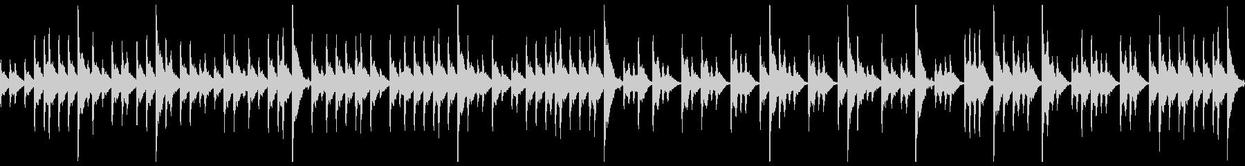 締太鼓ソロ アップ2の未再生の波形