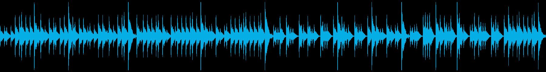 締太鼓ソロ アップ2の再生済みの波形