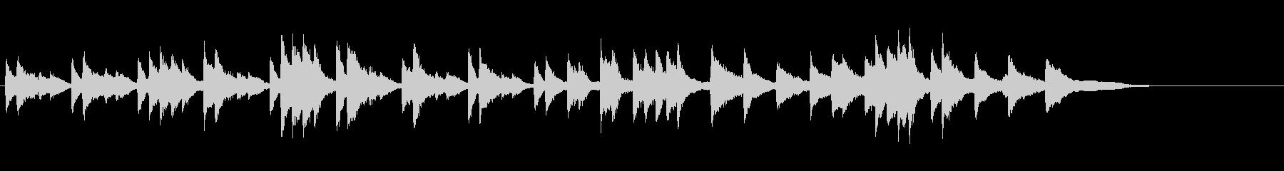 ロンドー(シャミナード作曲)の未再生の波形