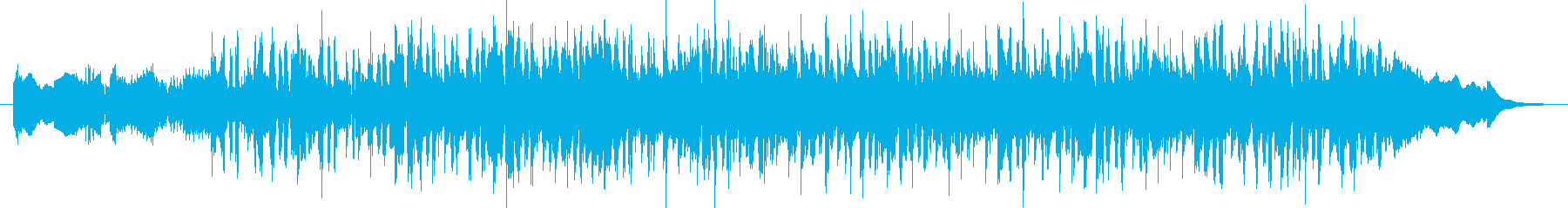 It 's like the last scene of a drama's reproduced waveform