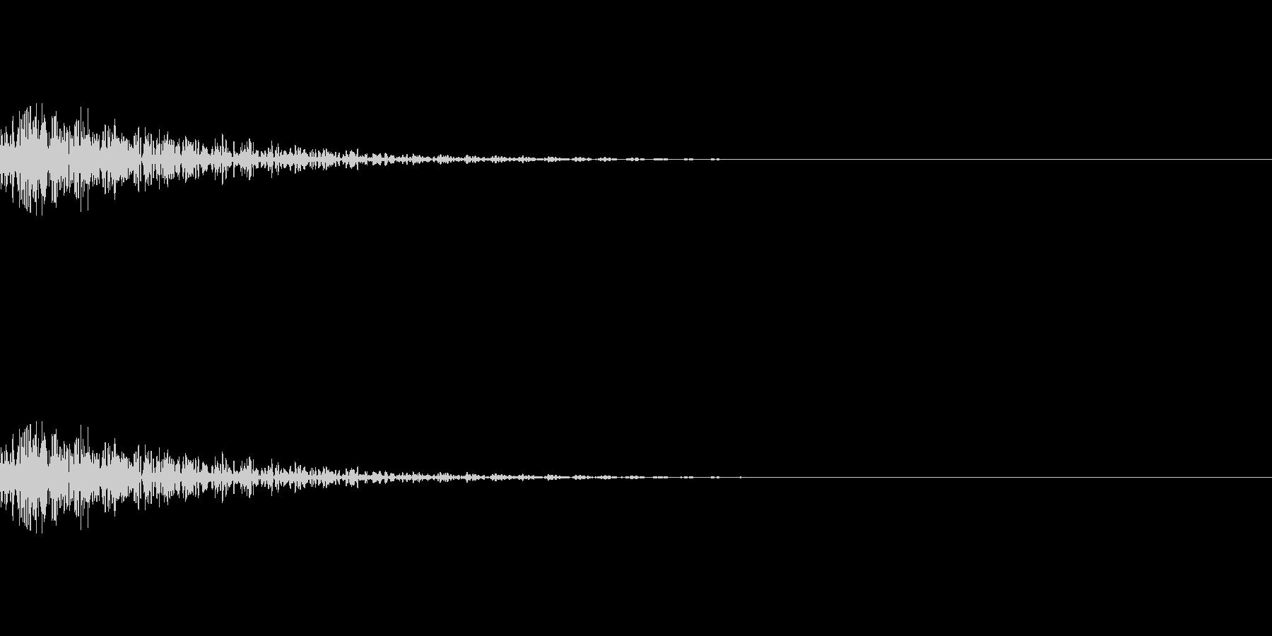 魔法、状態異常などに使える効果音_3の未再生の波形