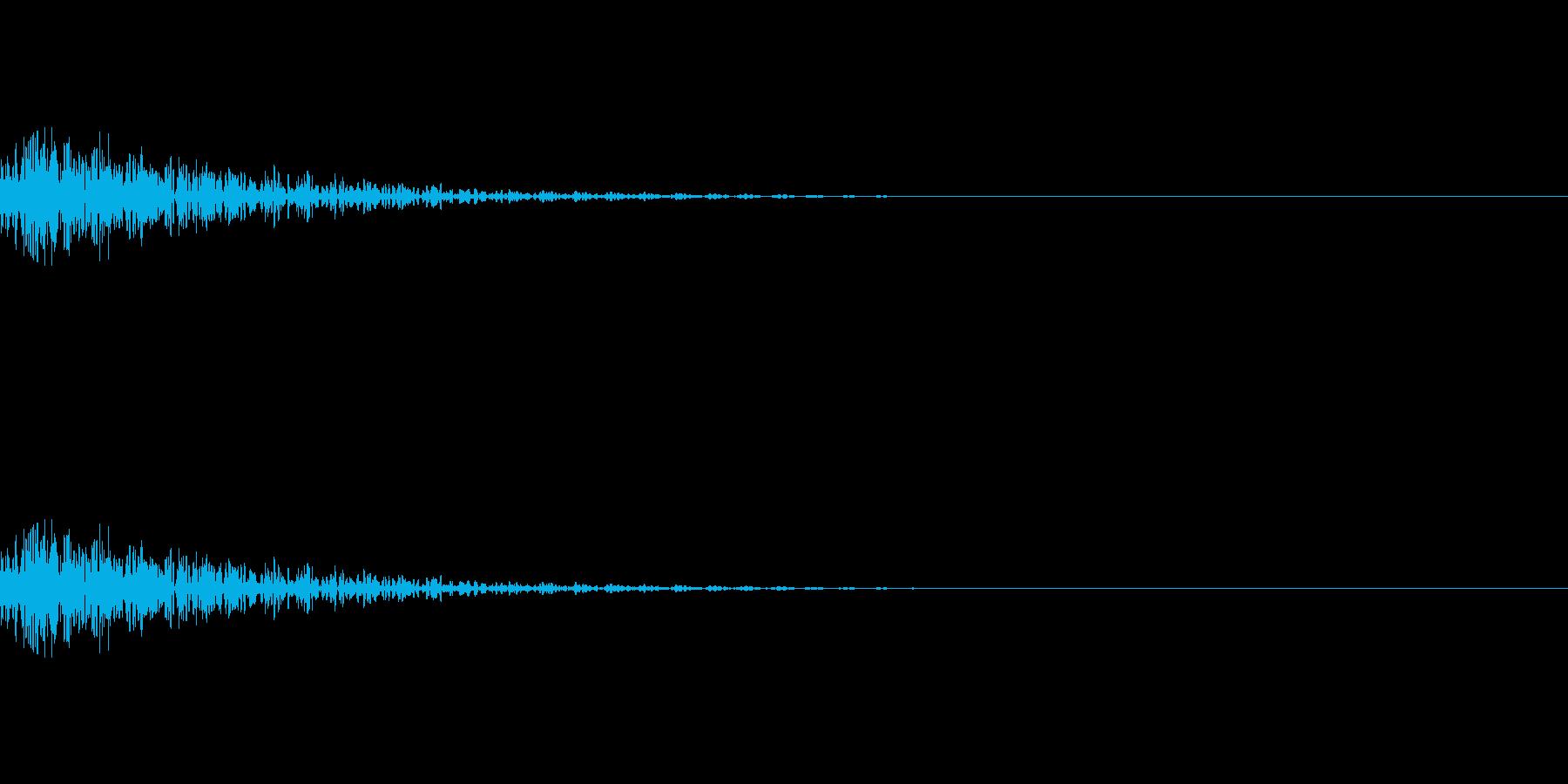 魔法、状態異常などに使える効果音_3の再生済みの波形
