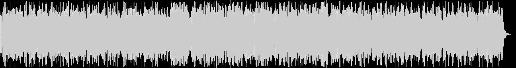 柔らかい音色のリラクゼーション曲の未再生の波形