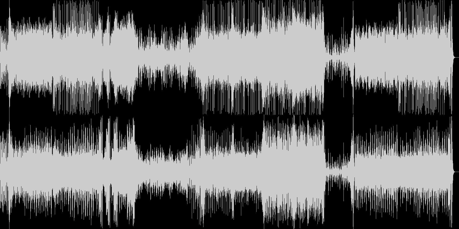 上品でかわいいファンタジーワルツの未再生の波形