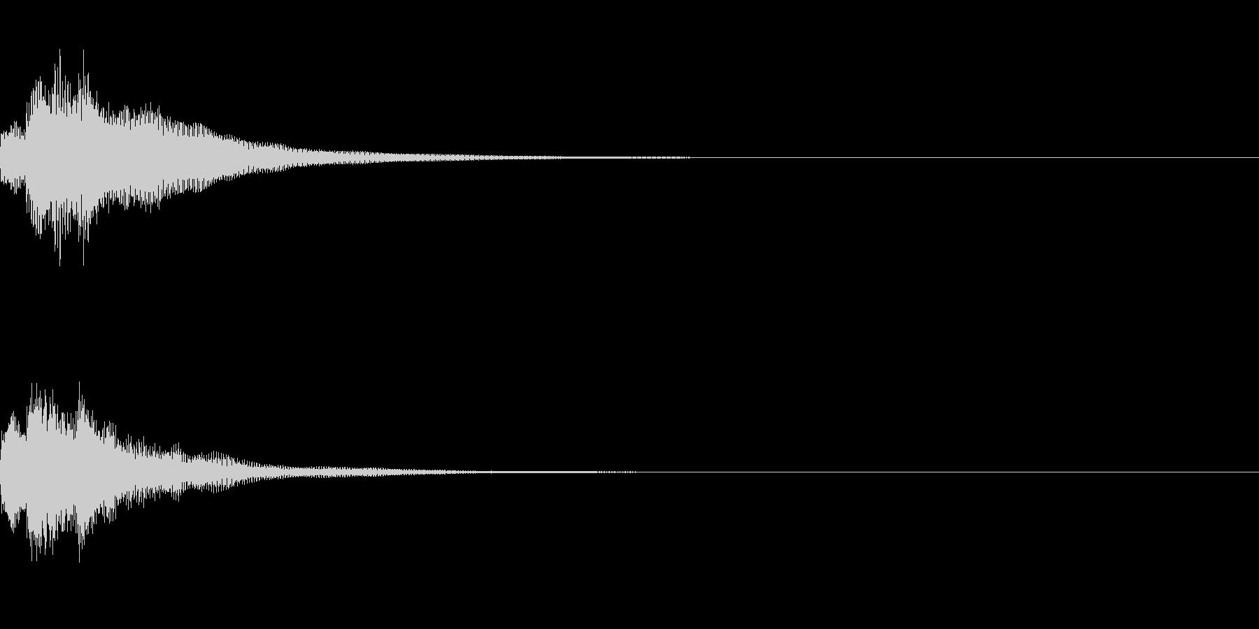 テレレレン 上がる (ゲーム効果音)の未再生の波形