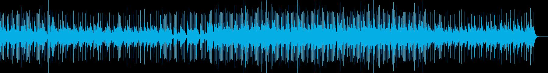 哀愁漂うヒーリングオルゴールの再生済みの波形