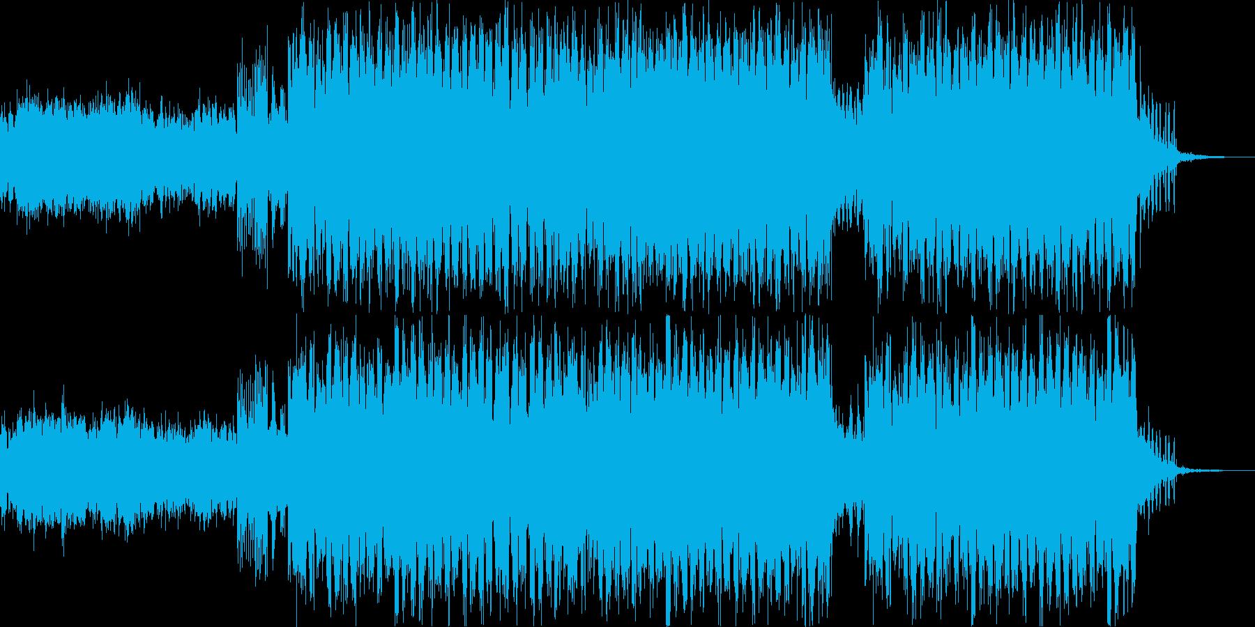 Lo-Fi HipHopの再生済みの波形