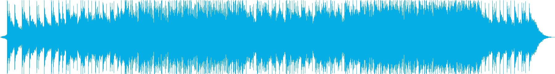 バックグラウンドアンビエントトラックの再生済みの波形