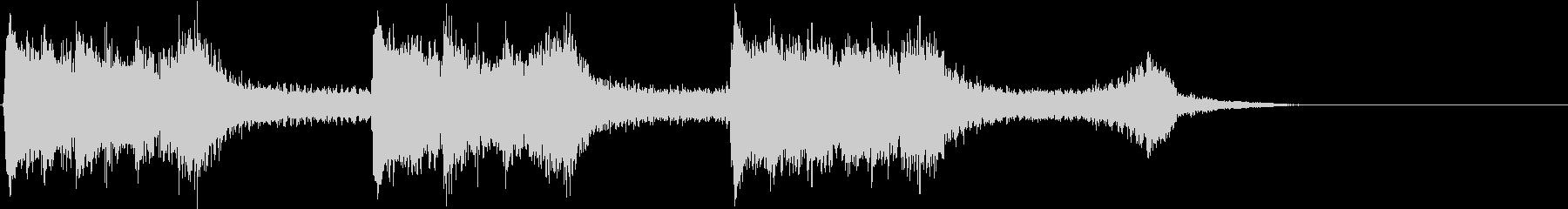 トムとジェリー風なアニメ音楽「驚き」4の未再生の波形