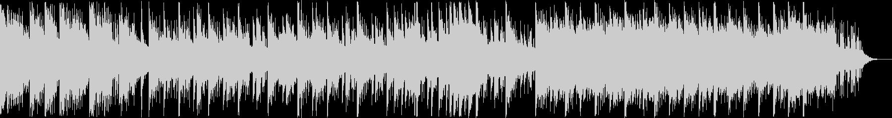 透明感あふれるエレクトロニカポップの未再生の波形