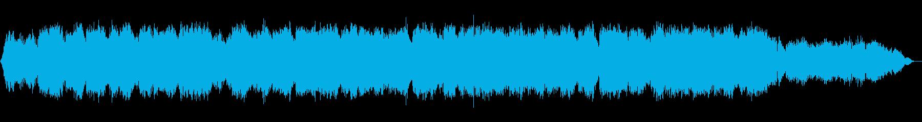静かで切ない竹笛のメロディーの再生済みの波形