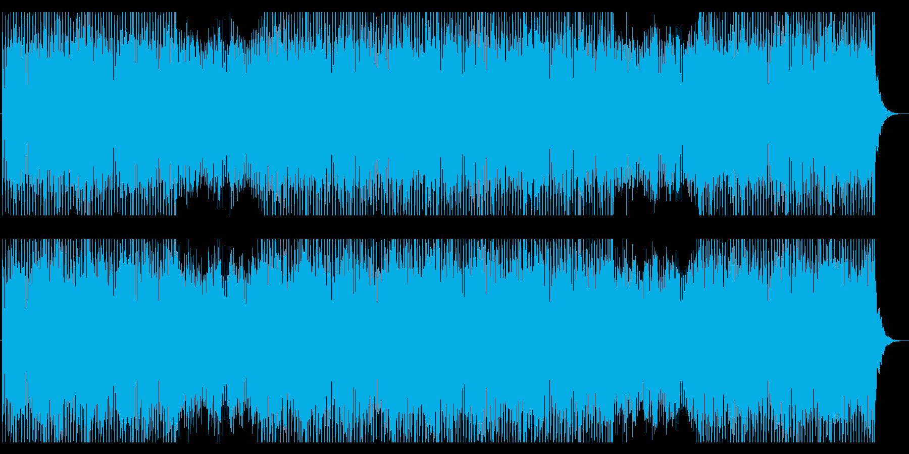 バックグラウンドBGM 01の再生済みの波形