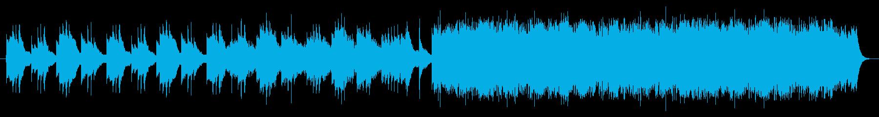 感動 バラードの再生済みの波形