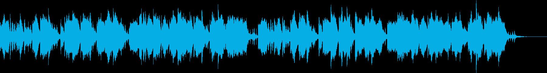 住民が来た場面 ゲームの再生済みの波形