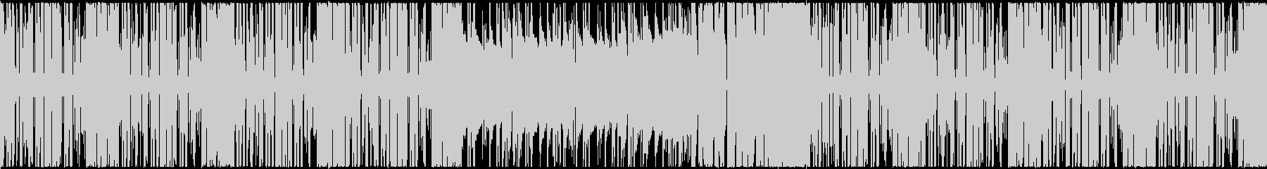 【ループ対応】シンプル明るいポップEDMの未再生の波形