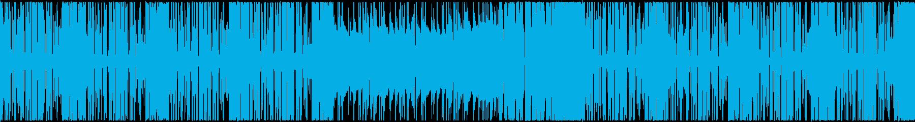 【ループ対応】シンプル明るいポップEDMの再生済みの波形