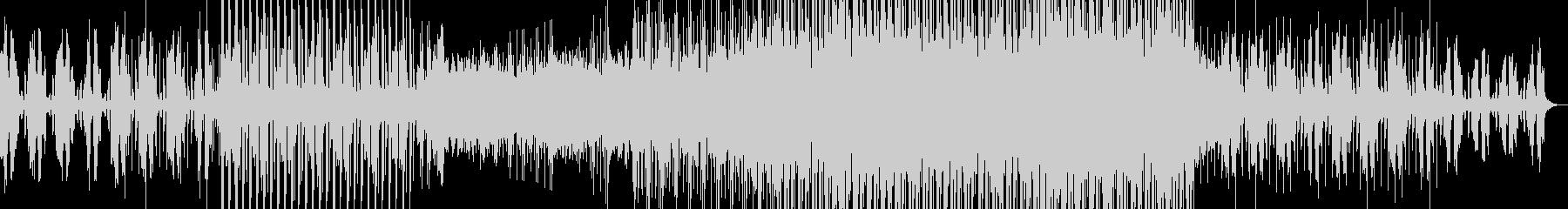 ハウス系EDMの未再生の波形
