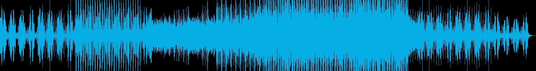ハウス系EDMの再生済みの波形
