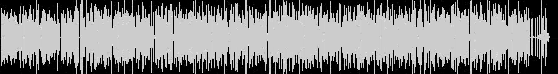 Lo-Fiな音色のHiphopの未再生の波形