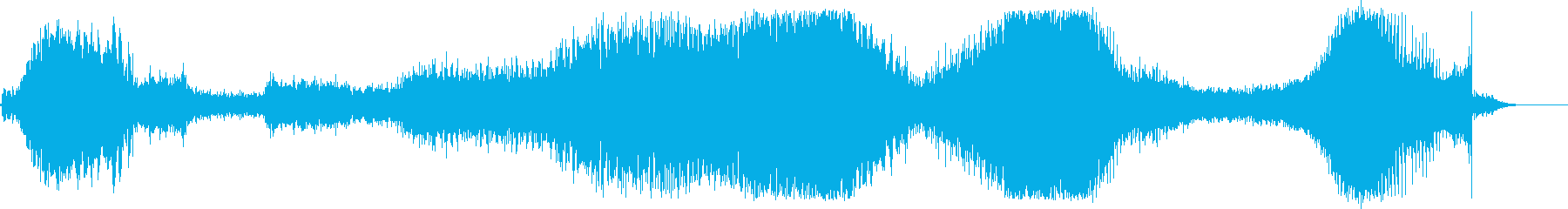ロボットの動き、ラチェット、クラン...の再生済みの波形