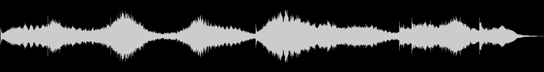 エスノムード満載アンビエントなベル音楽の未再生の波形