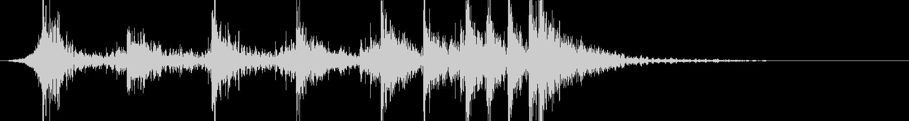 シネマティックドラムのアイキャッチですの未再生の波形