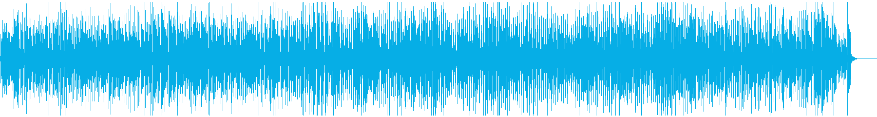 楽しいウキウキ系の軽快なレトロジャズの再生済みの波形