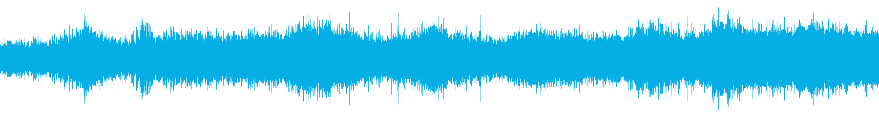 オランダで収録した噴水の音の再生済みの波形