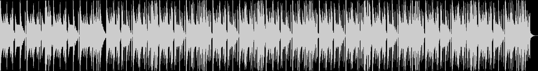 怪しい不気味コミカルなヒップホップbの未再生の波形