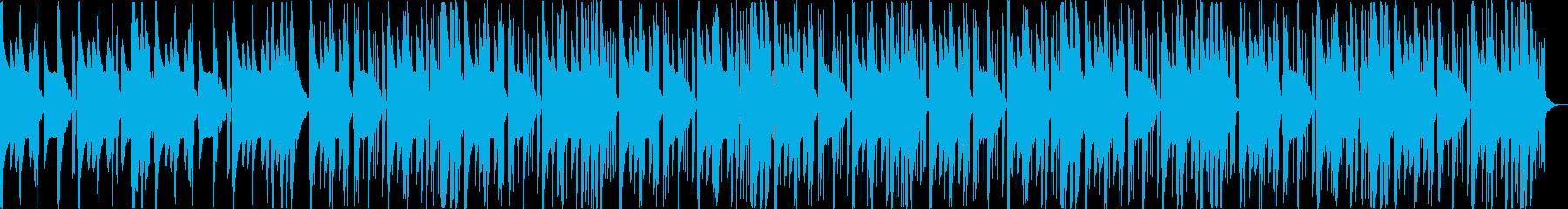怪しい不気味コミカルなヒップホップbの再生済みの波形