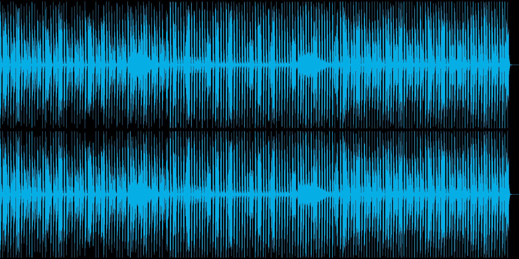 【エレクトロニカ】テクノ、ロング5の再生済みの波形