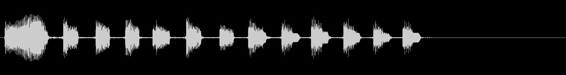 STEEL GUITAR:笑いアク...の未再生の波形