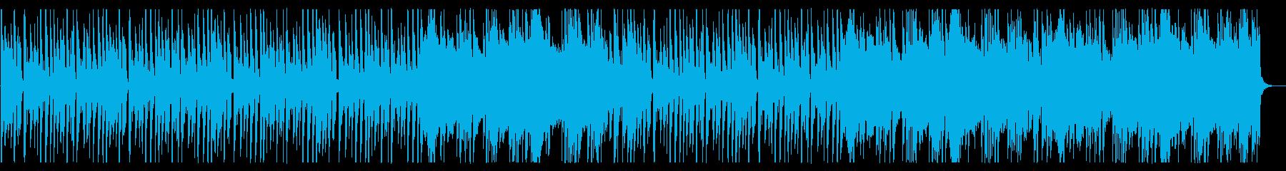 浮遊感が溢れるBGM_No580_1の再生済みの波形