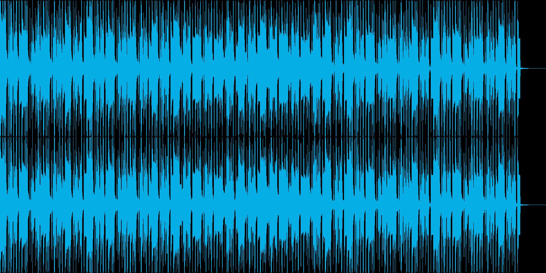 南国、トロピカル、レゲエな曲の再生済みの波形