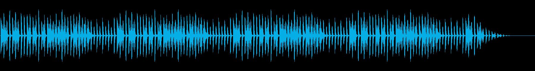 冬の童謡の定番「雪」シンプルなピアノソロの再生済みの波形