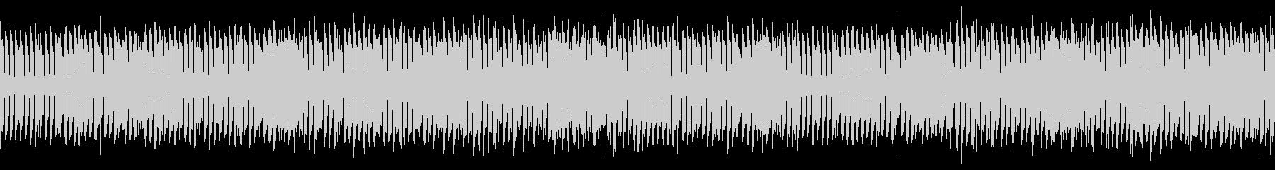 ループ 鍵盤楽器の緊張感あるミニマルの未再生の波形