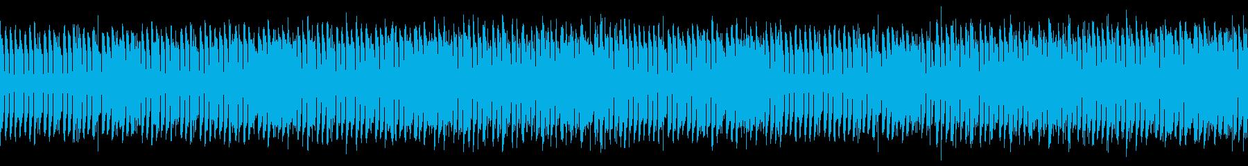 ループ 鍵盤楽器の緊張感あるミニマルの再生済みの波形
