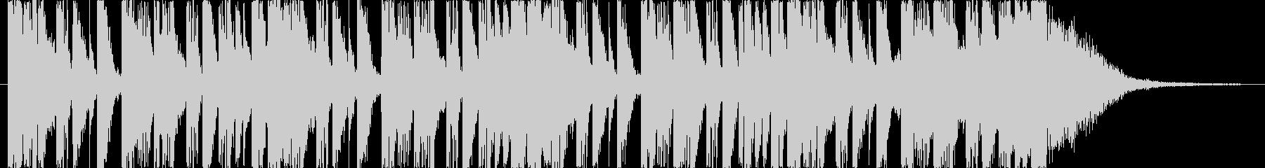 番組アタックやCM,ジングルに最適リズムの未再生の波形