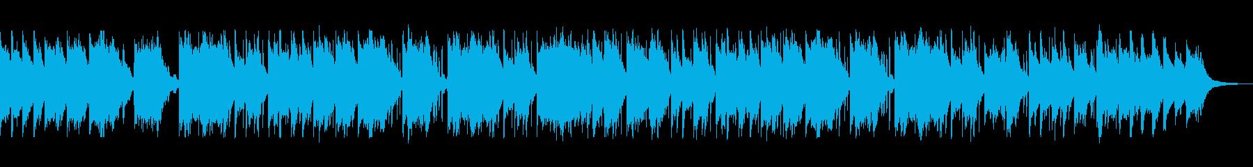聖なる夜に鳴り響くベルの再生済みの波形