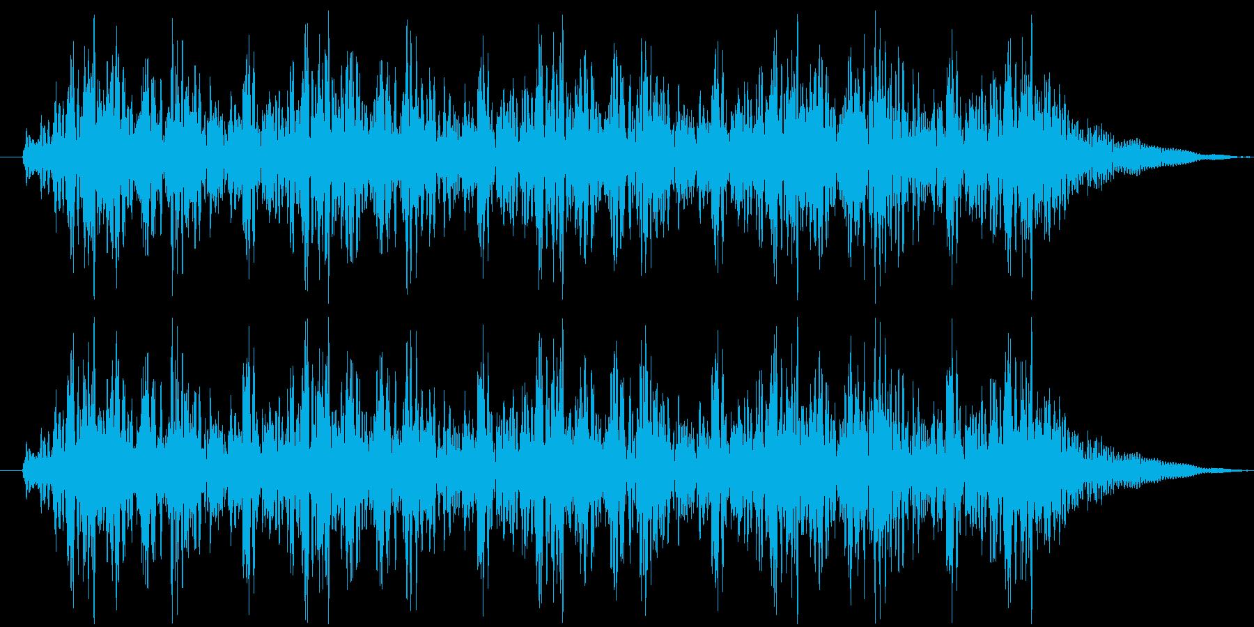 っとととドンドンドンドンの再生済みの波形